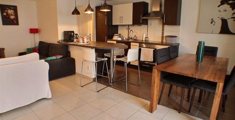 Appartement 4 pièces, 2 terrasses, résidence récente