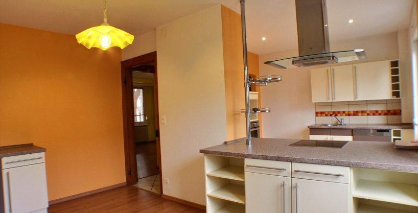 Mulhouse Furstenberger, Maison 6 pièces 115m², terrain 286 m²