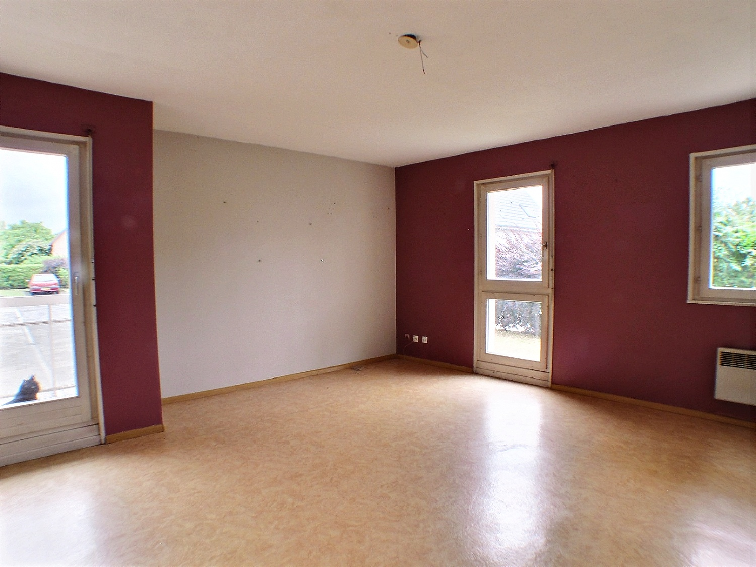 Wittenheim, Appartement 3 pièces, 2 chambres, 66m²