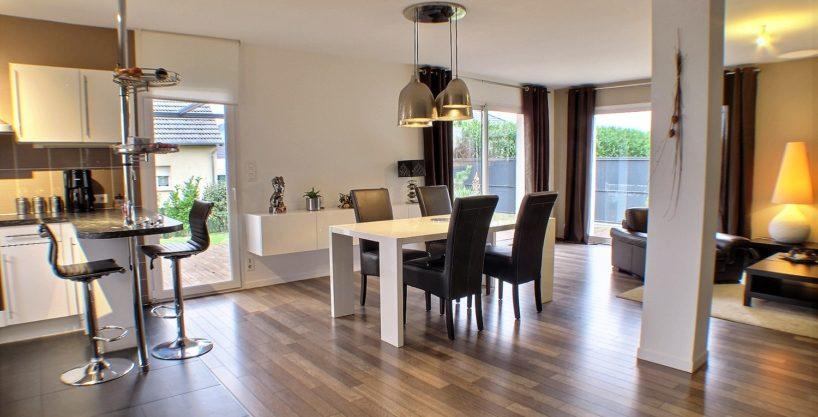 Kingersheim, maison meublée, 3 chambres