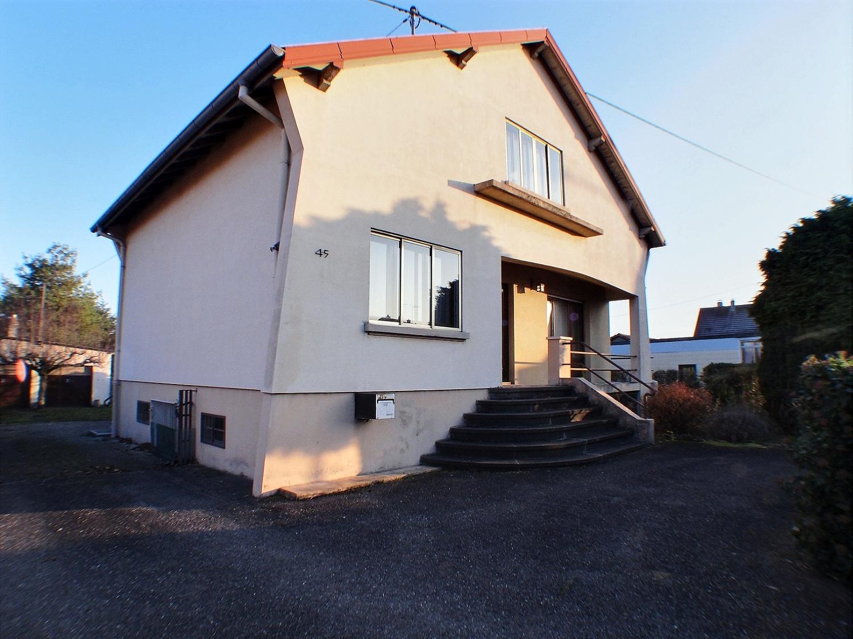 Wittelsheim, maison individuelle 3 chambres, grand terrain