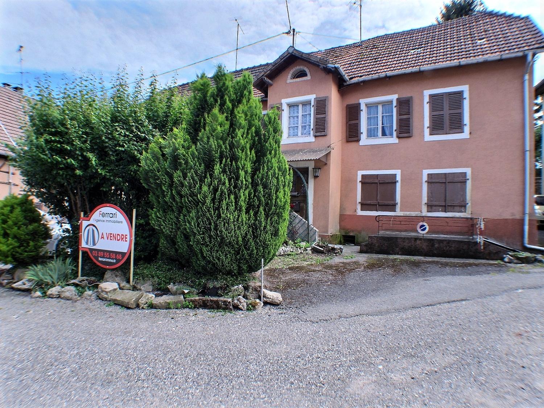 Altkirch, maison à renover completement, 110 m² , terrain