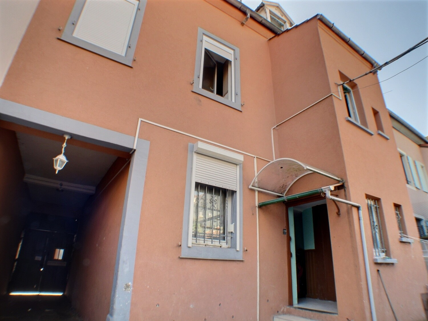 MULHOUSE, IMMEUBLE, 3 APPARTEMENTS